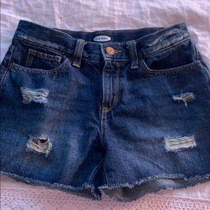 Girls Old Navy Jean Shorts!